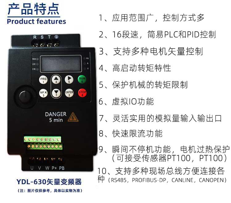 630系列变频器产品特点