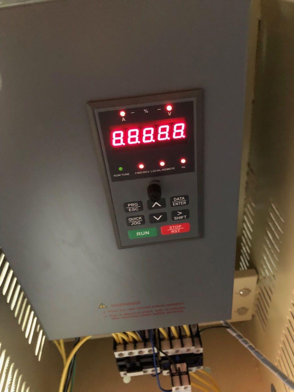 610系列变频器调试中