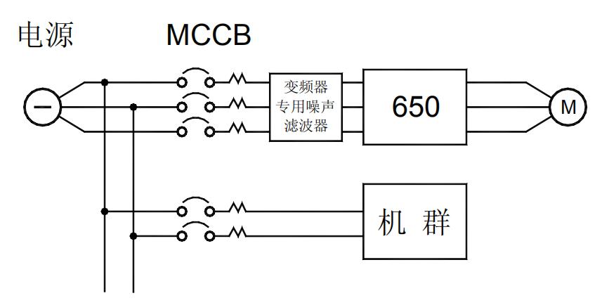 加装变频器用的滤波器